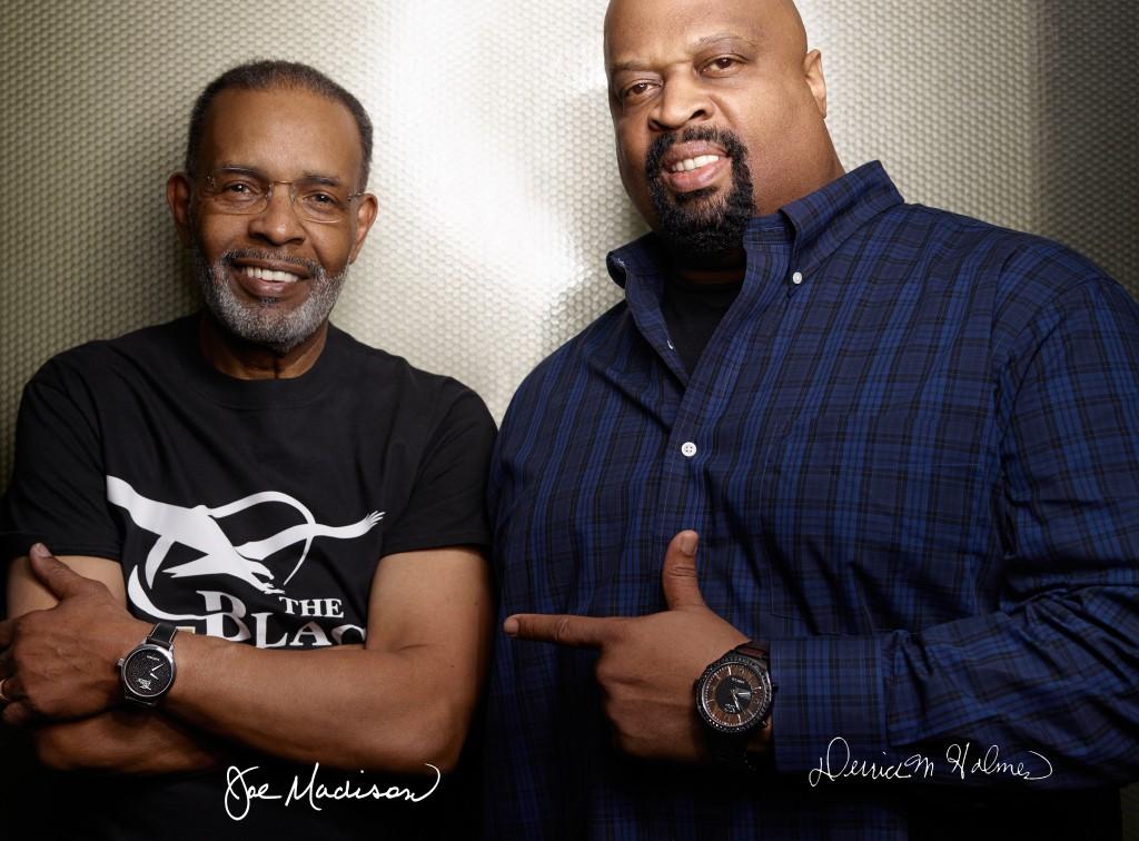 Joe Madison and Derrick Holmes